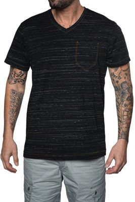 Jeremiah Men's Speckler Space Dyed Jersey V Neck Top