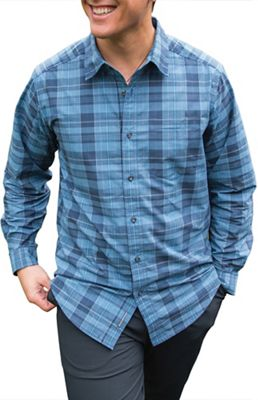ExOfficio Men's Arabica Plaid LS Shirt