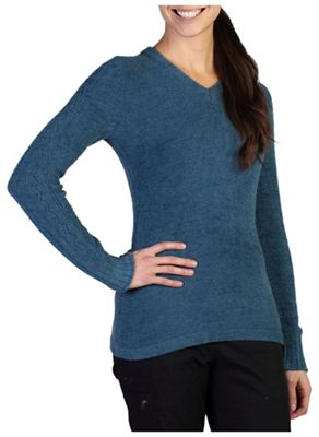 ExOfficio Women's Irresistible Dolce V Neck Sweater