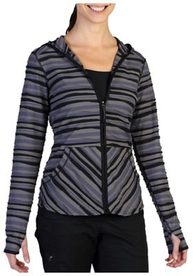 ExOfficio Women's Techspressa Stripe Hoody