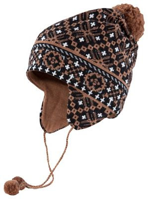 Ibex Women's Fairisle Earflap - Ties