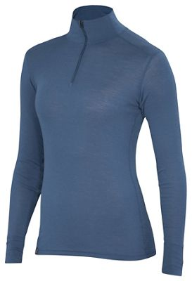 Ibex Women's Woolies 1 Zip T-Neck