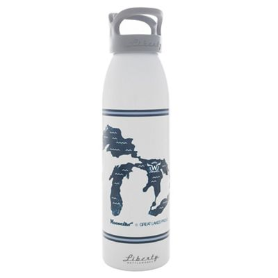 Moosejaw Liberty Bottleworks Great Lakes Proud CO-LAB Aluminum Water Bottle