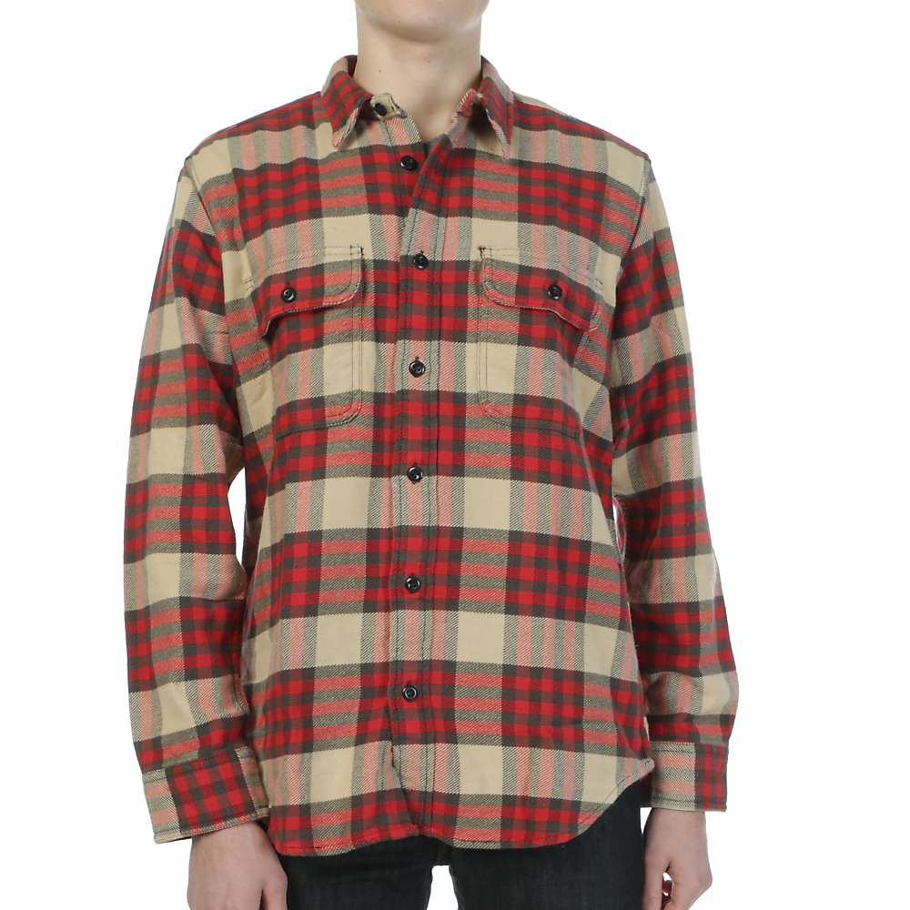 filson men 39 s vintage flannel work shirt moosejaw