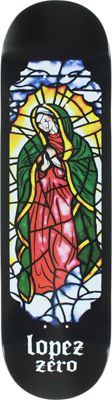 Zero Lopez Stained Glass Skateboard Deck