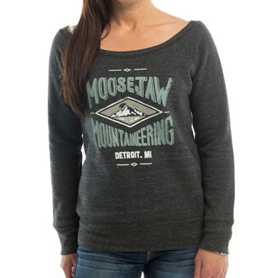 Moosejaw Women's La Grange Tri-Blend Wide Neck Crew