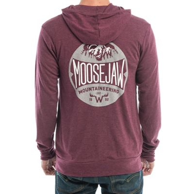 Moosejaw Men's Run to the Hills Lightweight Zip Up Hoody