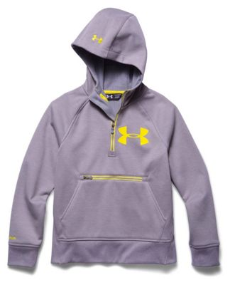 Under Armour Youth ColdGear Infrared Dobson 1/2 Zip Jacket