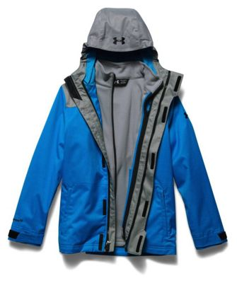 Under Armour Youth ColdGear Infrared Wildwood 3-In-1 Hooded Jacket