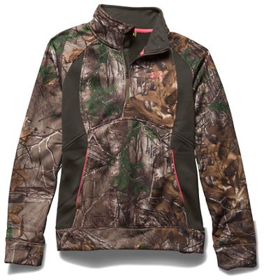 Under Armour Women's Camo Armourfleece 1/4 Zip Top