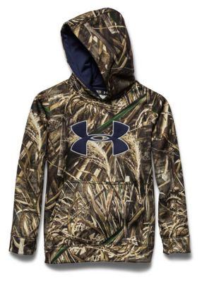 Under Armour Youth Camo Big Logo Hoody