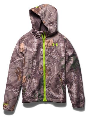 Under Armour Youth Coldgear Infrared Scent Control Barrier Hoody