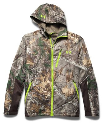 Under Armour Men's Coldgear Infrared Scent Control Barrier Jacket