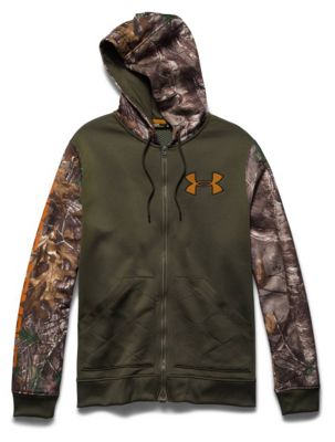 Under Armour Men's Caliber Full-Zip W Mag Zip Hoody