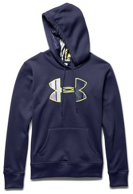 Under Armour Women's Armour Fleece Printed Fill Big Logo Hoody