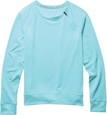 Under Armour Women's ColdGear Cozy Zip Crew Top