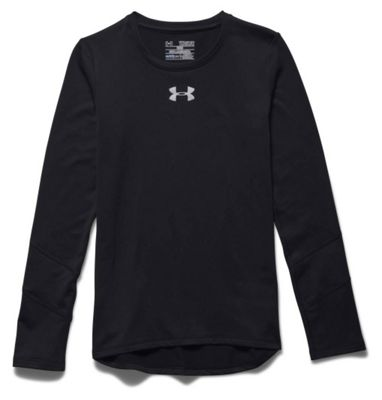 Under Armour Girls' ColdGear LS Crew Top