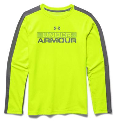Under Armour Boys' ColdGear Infrared LS Tee