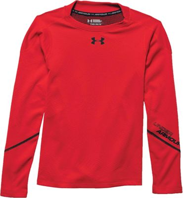 Under Armour Boys' Coldgear Infrared Mock Neck Top