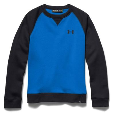 Under Armour Boys' Rival Cotton Crew Top