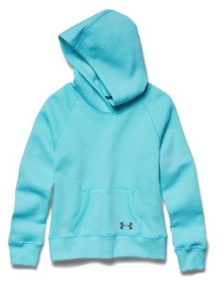 Under Armour Girls' Rival Cotton Solid Hoody