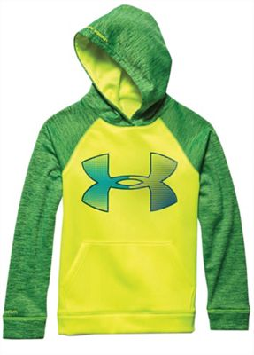 Under Armour Boys' Storm Armour Fleece Jumbo Big Logo Hoody