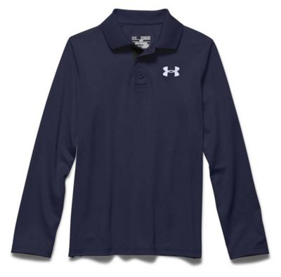 Under Armour Boys' UA Match Play LS Polo Shirt