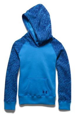 Under Armour Girls' Rival Print Cotton Hoody