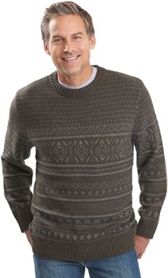Woolrich Men's Cross Country Fair Isle Crew