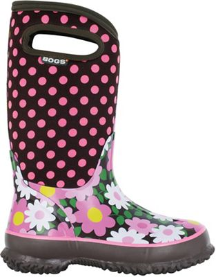 Bogs Kids' Classic Flower Dots Boot