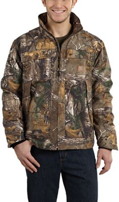 Carhartt Men's Quick Duck Camo Traditional Jacket