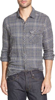 Jeremiah Men's Murphy Puckered Twill Plaid Shirt