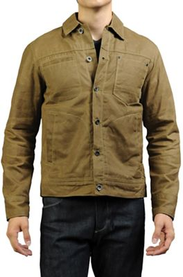 Jeremiah Men's Roanoke Wax Canvas Workshirt Jacket