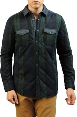 Jeremiah Men's Wooster Quilted Plaid Shirt Jacket