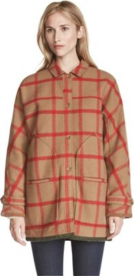 Woolrich Women's Window Pane Cocoon Coat