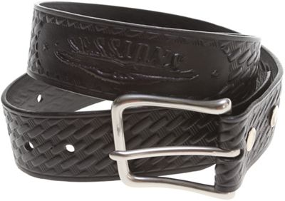 Sessions Pattern Leather Belt - Men's