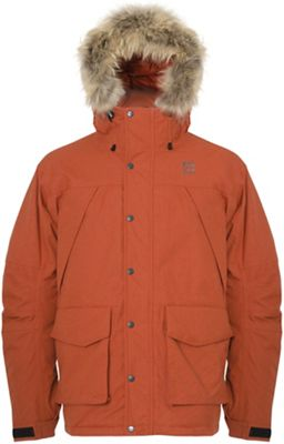 66North Men's Porsmork Parka with Fake Fur Limited Edition
