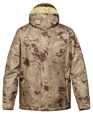 Quiksilver Mission Printed Snowboard Jacket - Men's