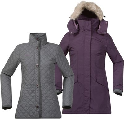 Bergans Women's Aune 3IN1 Lady Jacket