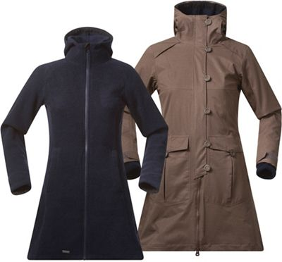 Bergans Women's Bjerke 3IN1 Lady Coat