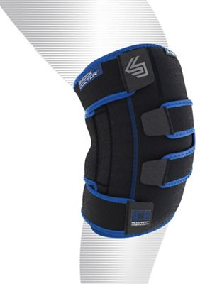 Shock Doctor Ice Recovery Knee Compression Wrap