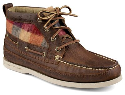 Sperry Men's A/O Boat Chukka Plaid Boot