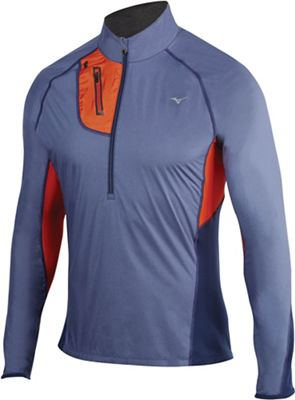 Mizuno Men's BT Windtop Half Zip Top