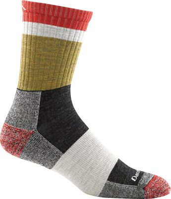 Darn Tough Men's Heady Stripe Light Cushion Micro Crew Sock