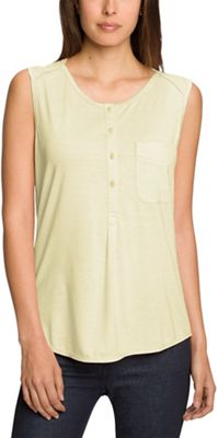 Nau Women's M2 Sleeveless Henley Top
