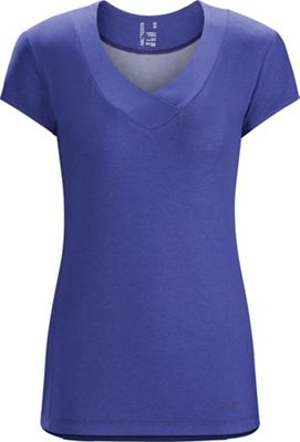 Arcteryx Women's Aleza SS V- Neck Top