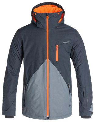 Quiksilver Mission Color Block Snowboard Jacket - Men's