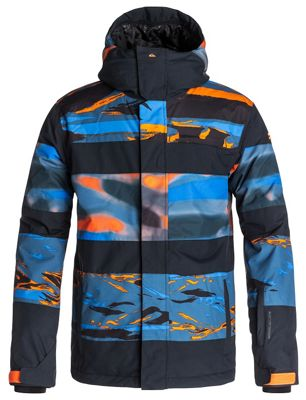 Quiksilver Fiction Snowboard Jacket - Men's