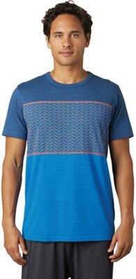 Prana Men's Throttle Blocked Crew Top