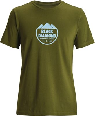 Black Diamond Men's Alpinist Crest SS Tee